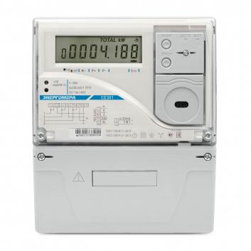 Счетчик электроэнергии CE301 S31 003-JAVZ  трехфазный многотарифный, 5(10), кл.точ. 0.5s, Щ, ЖКИ, RS485, оптопорт