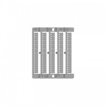 Символы CNU/8/530 с 21 по 30 горизонтальная