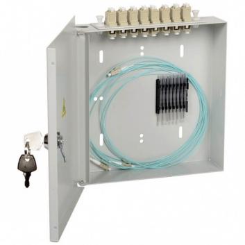 Кросс настенный укомплектованный LC (duplex) 4шт (OM3)