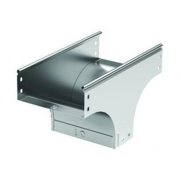 Ответвитель TD Т-образный вертикальный основание 500 H100 в комплекте с крепежными элементами и соединительными пластинами